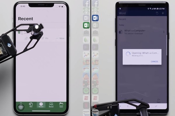 两大阵营机皇再对决:iPhone XS Max VS 三星Note9
