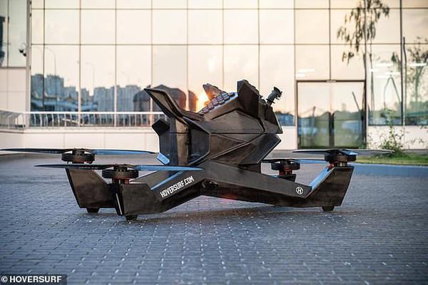 """俄罗斯研制""""蝎子""""四轴飞行器售价15万美元"""