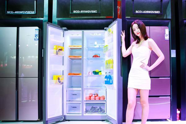 AWE 2019:新飞智能冰箱首次亮相?#23548;?#23637;厅