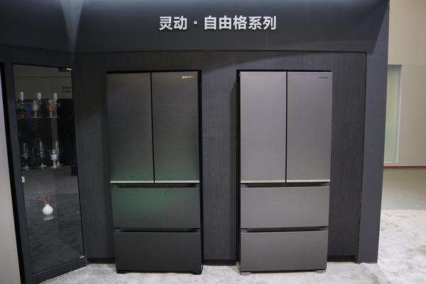 AWE 2019:三星灵动系列超大冰箱 大就一个字
