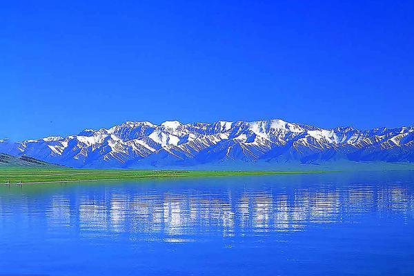 新疆赛里木湖夏日美景如画令人陶醉