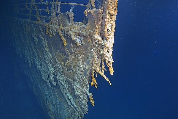泰坦尼克号沉船腐蚀严重 残骸或将于2030年彻底消失