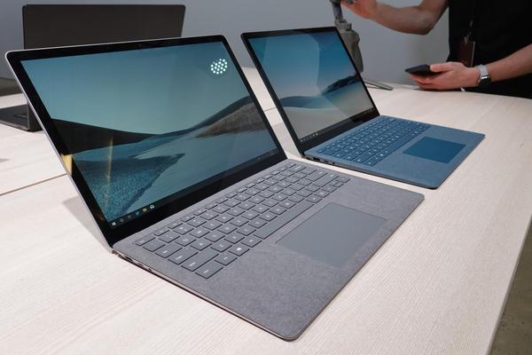 首次采用金属材质Laptop 3笔记本电脑现场图赏