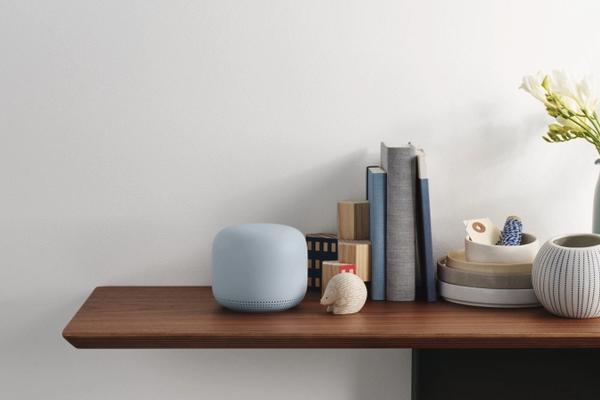 谷歌Nest Mini智能音箱图集:小巧玲珑