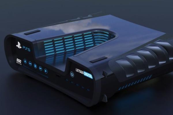 PS5开发机实机照片首次曝光 V字造型与概念图一致