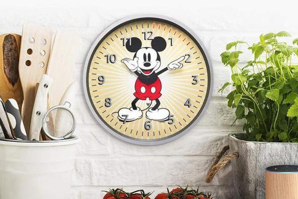 米老鼠版Echo Wall Clock壁钟上架 售价49.99美元
