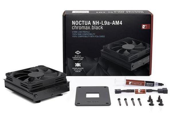 """猫头鹰推出""""全黑""""款ITX散热器:支持AMD平台"""