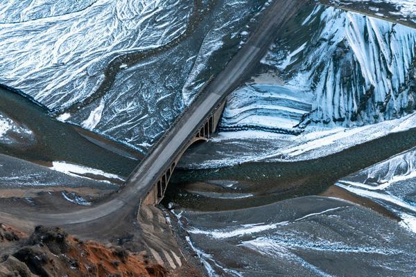 新疆安集海大峡谷,小众秘境宛如印象派油画