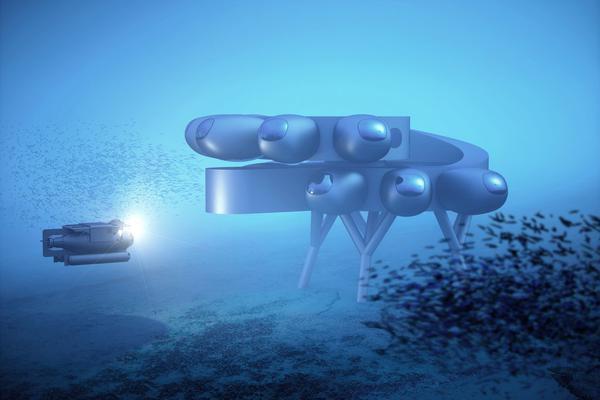 """海洋中的""""国际空间站""""!水下研究站公布概念设计"""