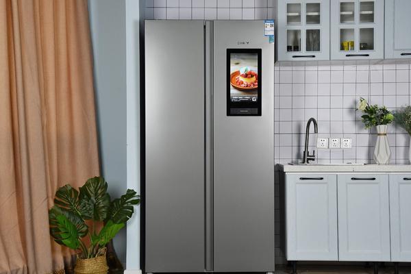 云米云小鲜458L互动大屏冰箱图赏