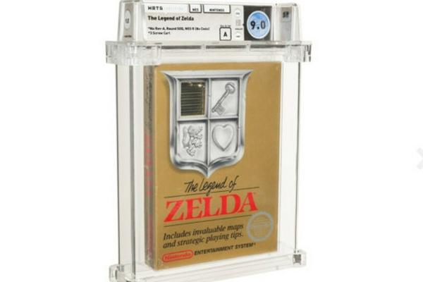 1987年版未拆封《塞尔达传说》游戏以87万美元被拍卖