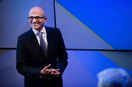 微软CEO萨蒂亚·纳德拉(Satya Nadella)