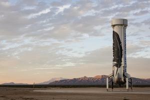 亚马逊CEO旗下航天公司完成火箭回收测试