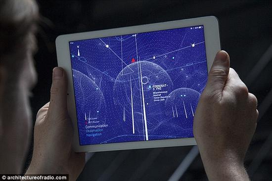 智能手机、平板和笔记本电脑等电子设备都会发射出我们肉眼看不到的无线信号,但现在,一款新的iOS应用会将这些信号都呈现在你眼前。