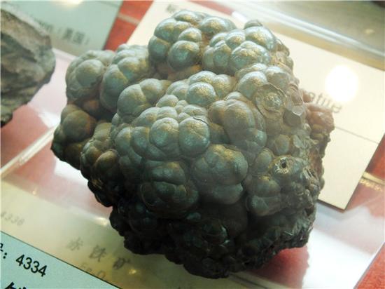 肾状赤铁矿(摄影:马志飞)