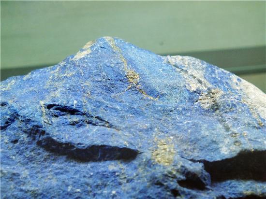 蓝色的青金石(摄影:马志飞)