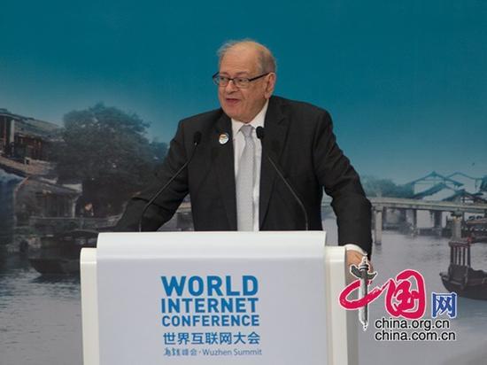 互联网之父、国际互联网名人堂入选者卡恩致辞