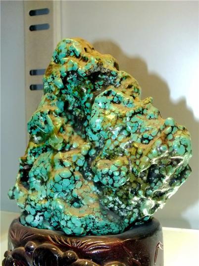 绿色的绿松石(摄影:马志飞)