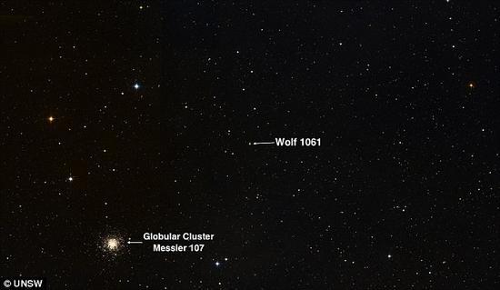 """天文学家发现最近""""超级地球"""":距地球仅14光年"""