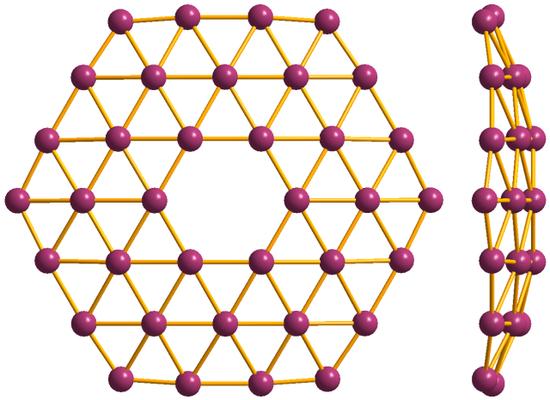 图为硼墨烯结构