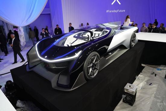法拉第未来电动概念汽车
