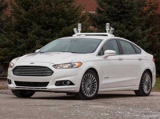 福特测试无人驾驶汽车