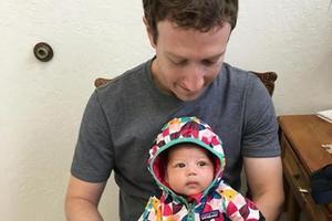扎克伯格晒女儿打疫苗照片引争议