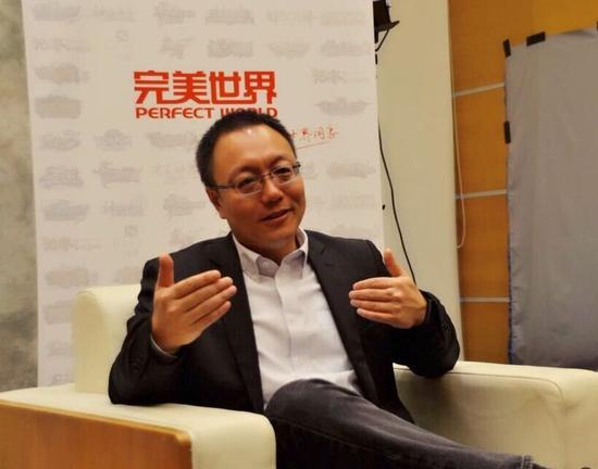 独家专访完美世界CEO:很多大项目积攒在2016年