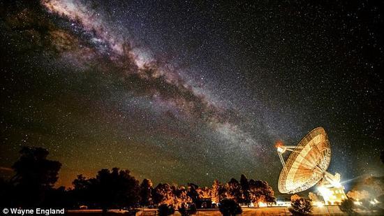 数十年来,天文学家一直在致力于探寻其它行星生命形式的迹象。最新理论认为,在大多数情况下,外星生命由于无法改变所处环境的气候,很快就会灭绝。本图显示的是帕克斯射电望远镜。