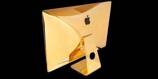 中國神秘買家訂購了50台24K黃金iMac