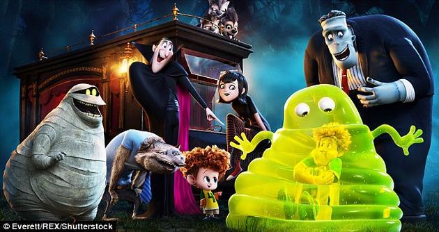 有些漫游车的设计和动画片《精灵旅社》中的果冻怪兽类似。