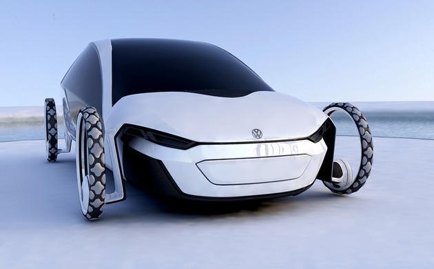 新型太阳能家用电动车 续航可达1000公里