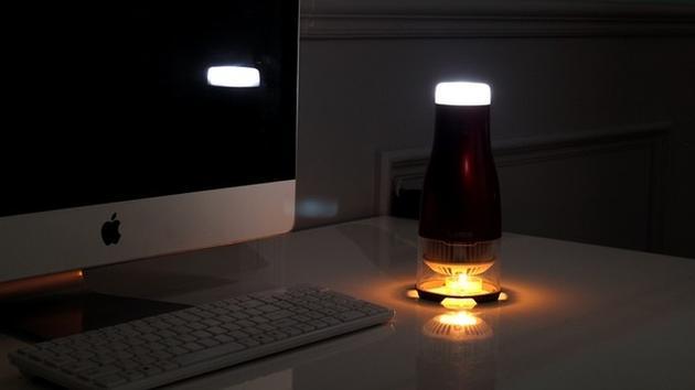迷你发电机 点根蜡烛也能发电制造灯光|发电机