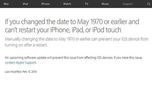 """蘋果承認""""1970變磚""""漏洞 解決方法都在這裡!"""