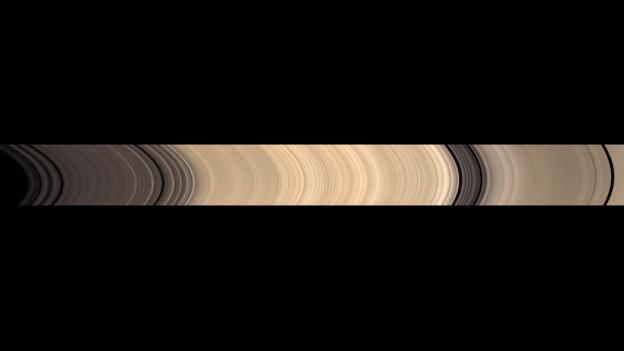 不同的土星光环看上去都有些许的差异
