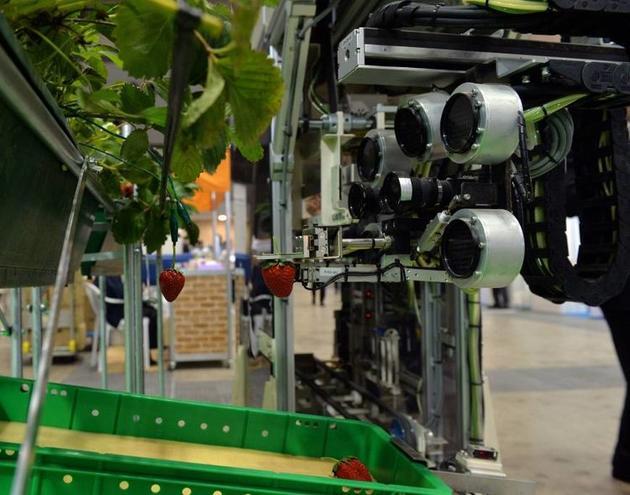 Shibuya Seiki的机器人,图片来自Japan Times
