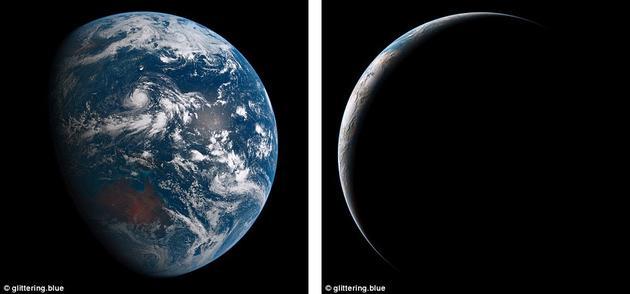 今年早些时候,一位名叫查理·劳埃德(Charlie Loyd)的卫星成像分析人员利用卫星在2015年8月5日的24小时内传回的所有照片,合成了一段长约12秒的循环电影,名叫《闪烁的蓝色》(Glittering Blue)。Himawari-8卫星拍摄的图片以日本为中心,拍摄到的其它地区还有西太平洋、澳大利亚、亚洲的部分地区、南极洲、还有阿拉斯加。