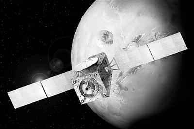 ExoMars痕量气体轨道探测器示意图