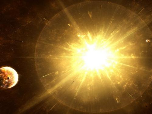 资料图:天体爆炸。