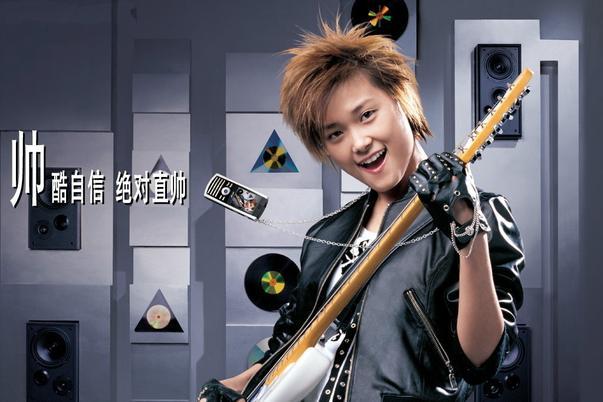 李宇春曾是夏新手机代言人