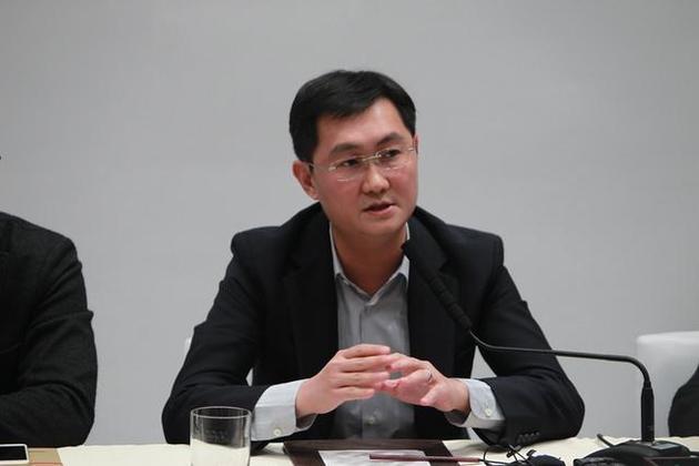 马化腾(央广网记者 韩靖摄)