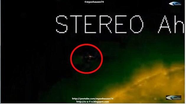 六、七年前两位俄罗斯科学家发现有无数UFO每天24小时围绕着太阳飞行。