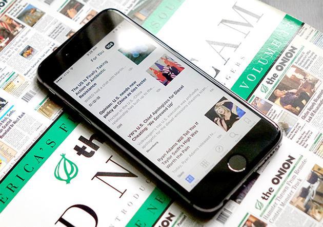苹果新闻应用将向自媒体个人与机构开放