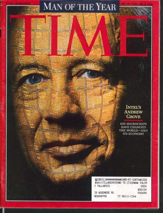 《时代》杂志1997年年度人物
