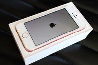iPhone SE玫瑰金开箱