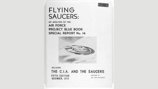《美国空军蓝皮书计划14号特别报告》中保留着美国空军对美国境内不明飞行物相关调查的原始资料