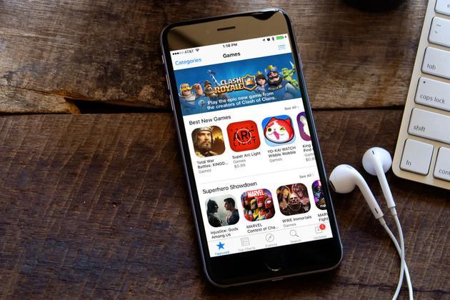 美国iPhone用户去年人均花费35美元购买应用