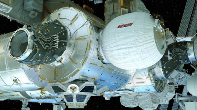 "SpaceX公司计划在下一次向国际空间站(ISS)运送补给物资的飞船上,将一套由""比格罗航天公司""(Bigelow Aerospace)研制的充气型太空居住舱送入太空"