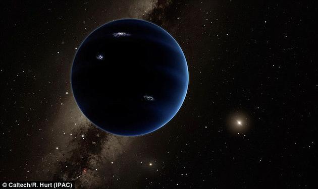 """自从今年初发现神秘的""""第九大行星""""以来,科学家就一直在寻找能证实该行星存在的证据。加州理工大学的天文学家迈克?布朗(Mike Brown)是一月初发现该行星的科学家之一。他前不久发推特称,他已经找到了进一步的证据,能证明该行星的存在。"""