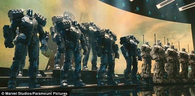 在不久的将来,《钢铁侠2》中的军用机器人或将走进现实。